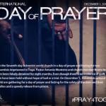 Adventiștii țin pe 1 decembrie o zi mondială de rugăciune