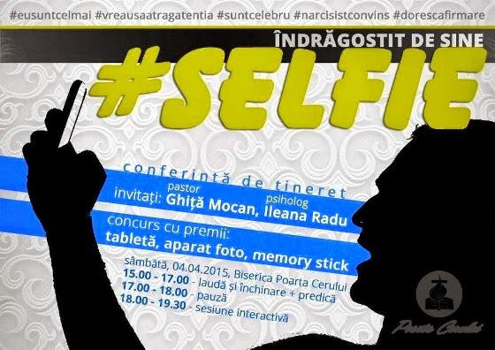 conferinta de tineret selfie - poarta cerului 2015