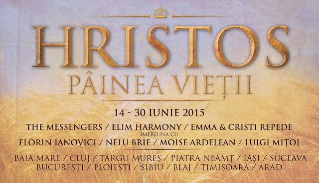 "Turneul National -""Hristos Painea Vietii"" – Elim Harmony, The Messengers, Emma& Cristi Repede si altii la timisoara 2015"