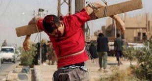 Mii de martiri creştini crucificaţi în Siria