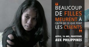 La 16 ani mama a doi copii si prostituata in Filipine