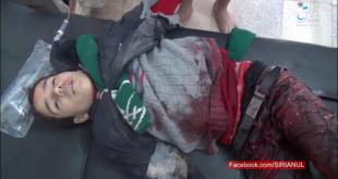 Aviatia Turca lasa in urma sa zeci de civili morti la Al-Bab,Siria.