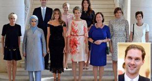 Soțul prim-ministrului gay al Luxemburgului pozează alături de soțiile liderilor NATO