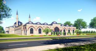 Proiectul Mega-moscheii turceşti a fost făcut public.Este, de fapt, un complex