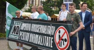 Alianța BINE a organizat la Cluj prima acțiune pentru apărarea familiei tradiționale