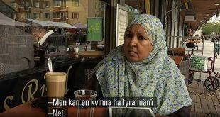 """Cererea unei feministe musulmane pentru statul suedez: """"Și poligamia ar trebui legiferată"""