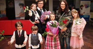 Familia Bodnariu, stabilită în România după coșmarul Barnevernet, a fost binecuvântată cu al șaselea copil.