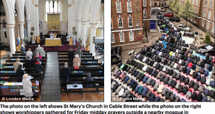 Londra închide 500 de biserici si deschide 432 de noi moschei