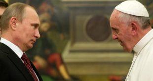 """Putin: """"Papa Francisc nu este omul lui Dumnezeu"""""""