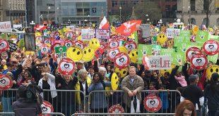 15.000 de canadieni la Marșul pentru Viață 2018 de la Ottawa