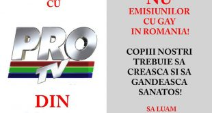 Tony Berbece: PRO TV promotorul homosexualității în România
