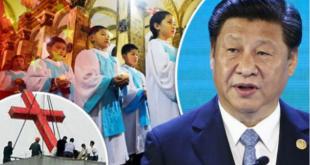 """GUVERNUL CHINEZ VREA SĂ """"RESCRIE BIBLIA"""" ȘI FORŢEAZĂ BISERICILE SĂ CÂNTE IMNURI COMUNISTE"""