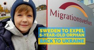 Micuțul Denis, de 6 ani, ar fi primit AZIL în Suedia, dacă ar fi fost MUSULMAN. Dar e CREȘTIN, deci bun de EXPULZAT